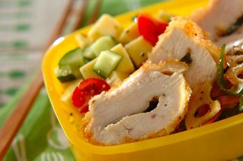 鶏肉のイタリアンフライ