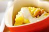サツマイモのミルク煮の作り方の手順