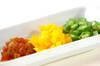 混ぜ野菜の冷茶漬けの作り方の手順2