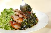 豚肉のニラソースがけの作り方2