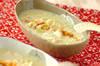 カニ入りコーンスープの作り方の手順