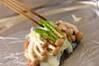 ブリのホイル焼きの作り方の手順6