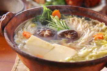 土鍋湯豆腐