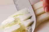 土鍋湯豆腐の下準備2