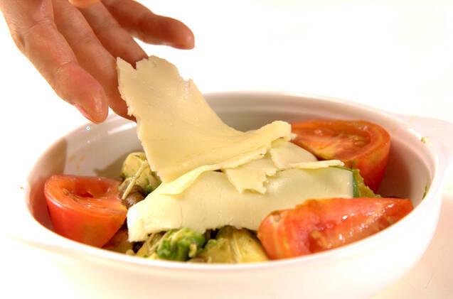 アボカドのチーズ焼きの作り方の手順4