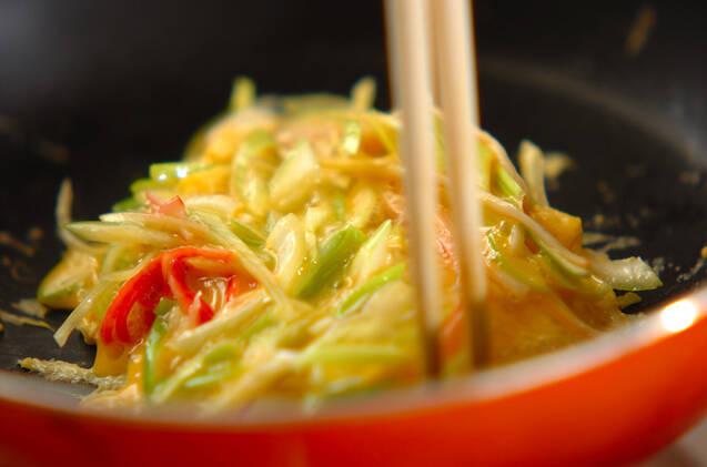 天津飯の作り方の手順2