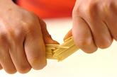 サラダパスタの作り方1