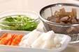 野菜の粕汁の下準備2