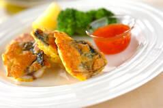 魚のパン粉焼き