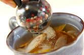 ゴボウの和風スープの作り方2