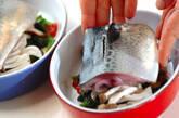 サバのガーリックトマトソースの作り方7