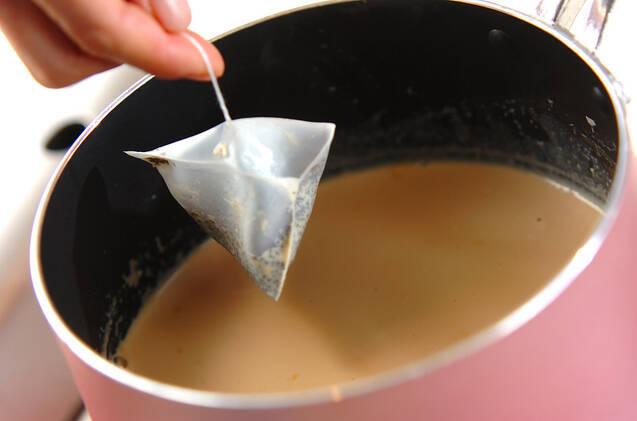 紅茶プリンの作り方の手順2