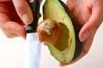 グリーンポテトサラダの下準備2