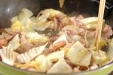 イカと豚肉入り焼きそばの作り方1