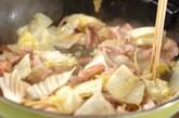 イカと豚肉入り焼きそばの作り方4
