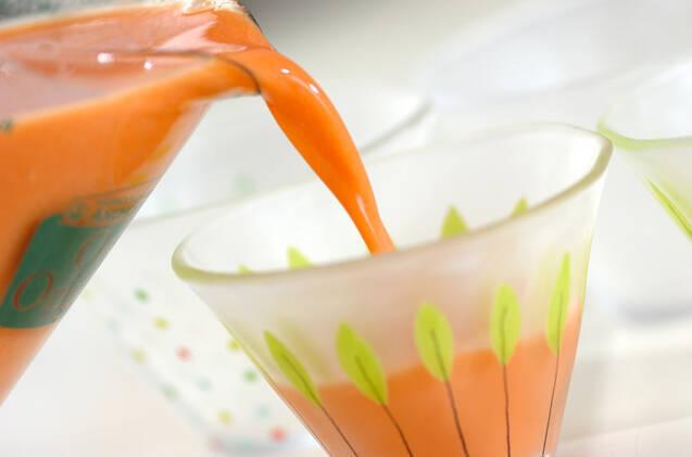 野菜ミルクプリンの作り方の手順3