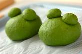 ホウレン草のカエルパンの作り方5