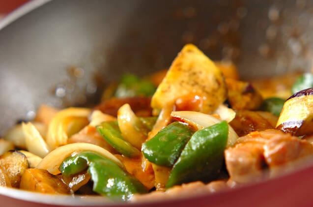 豚肉とナスのみそ炒めの作り方の手順10