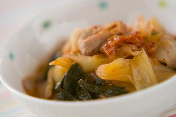 豚白菜のキムチ煮