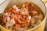 豚白菜のキムチ煮の作り方3