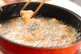 鶏の酢豚風の作り方1