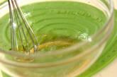 彩り春雨サラダの下準備4