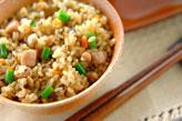 炊き込み玄米ご飯