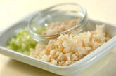 レンコンの水餃子の作り方1