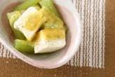 豆腐の春サラダ
