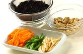 ヒジキと大豆の煮物の下準備1