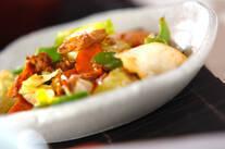 キャベツとツナの炒め物