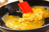 ホワイトアスパラの卵炒めの作り方3