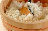 漬けカツオ寿司の作り方1