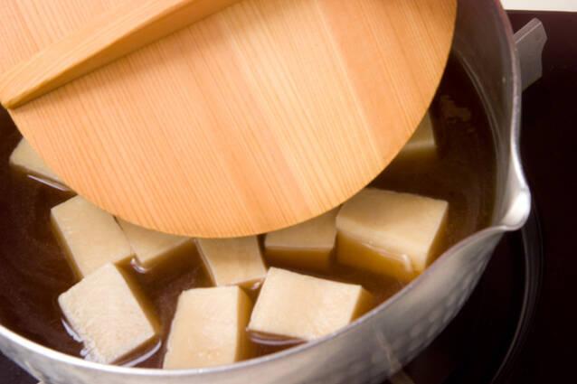高野豆腐の卵とじの作り方の手順5