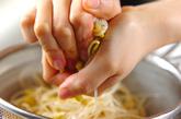 豆モヤシのサッパリナムルの作り方1