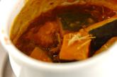 牛丼でカボチャの煮物の作り方2