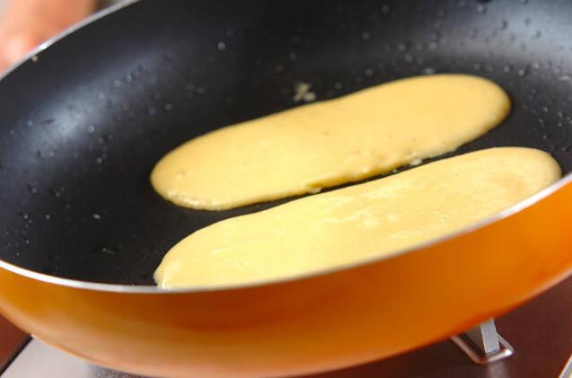 アユの和菓子の作り方の手順4
