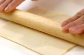 簡単イチゴパイの下準備2