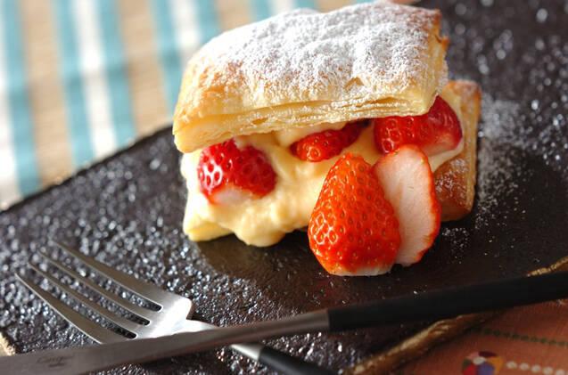 パティシエの味 簡単いちごパイ
