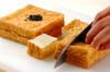厚揚げの酢豚風の作り方の手順1