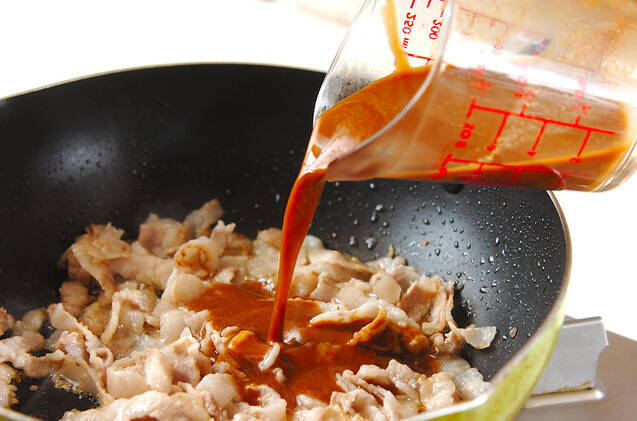 ナスの肉味噌チーズ焼きの作り方の手順3