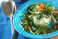 春菊と豆腐のホットサラダ