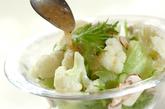 カリフラワーのサラダの作り方2