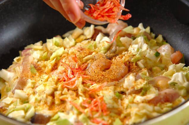ふわふわ!簡単基本のお好み焼き 小麦粉と長芋で作るの作り方の手順7