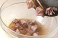 砂肝のゴマ酢づけの作り方2