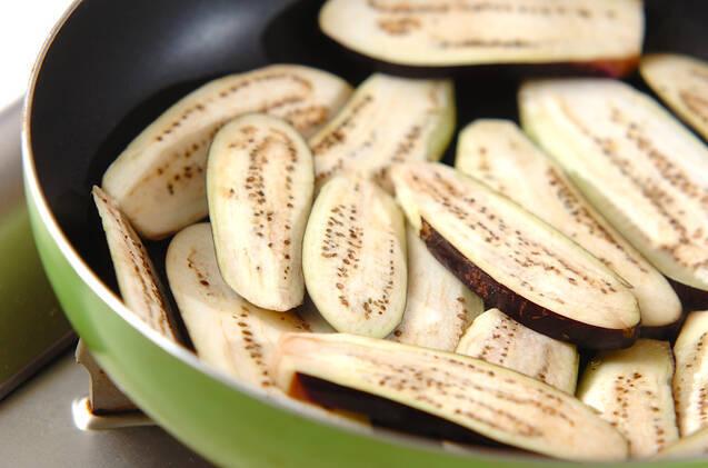 ナスのとろろ焼きの作り方の手順2