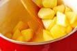 リンゴのカラメル炒めの作り方の手順3