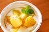 リンゴのカラメル炒めの作り方の手順