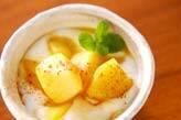 リンゴのカラメル炒め