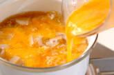 ユリネの甘卵とじの作り方6
